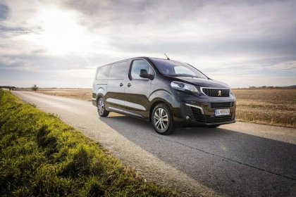 Peugeot Traveller - max. 3 dny