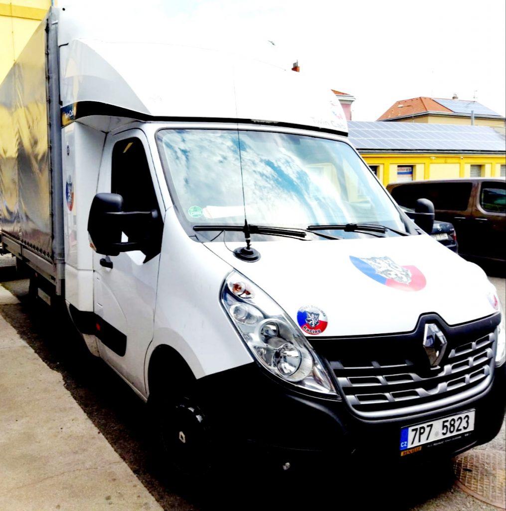 Doprava Renault Master do 200 km